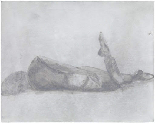 Figure (Horizontal, grey), 2010