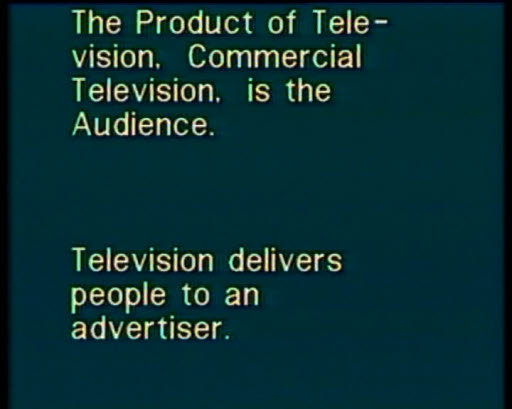 Television Delivers People, 1973