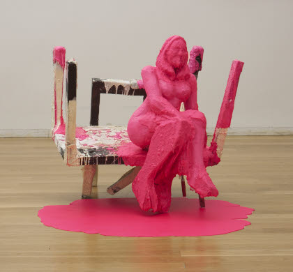 Untitled (Pink Lady), 2001