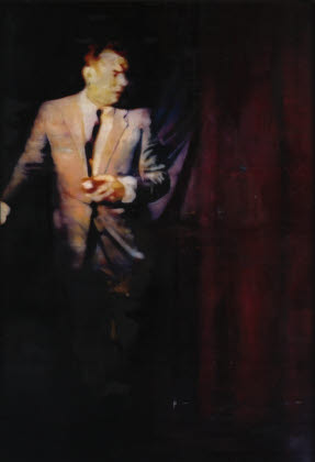 Man with Curtain, 2005